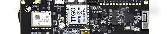 LoRa-WAN Tracker mit TTGO T-Beam (868MHz)